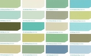 coastal cool color samples