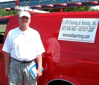 paint contractor, Lou Eads
